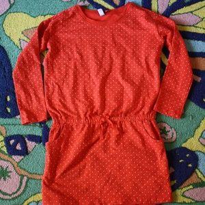 Tea Collection Dotty Drawstring dress